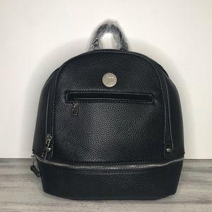 Jessica Moore Essentials Mini Backpack Black